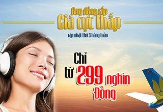 bay đẳng cấp - giá cực thấp cùng Vietnam Airlines