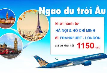 Ngao du trời Âu cùng Vietnam Airlines