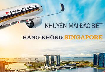Khuyến mãi đặc biệt từ hàng không Singapore