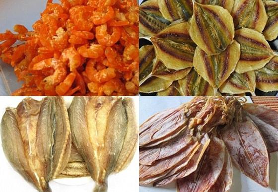 Các loại hải sản khô bị cấm mang vào Mỹ